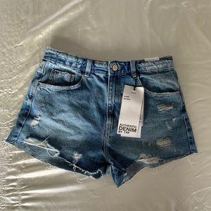 Brand new high waisted Zara shorts